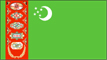 [Country Flag of Turkmenistan]